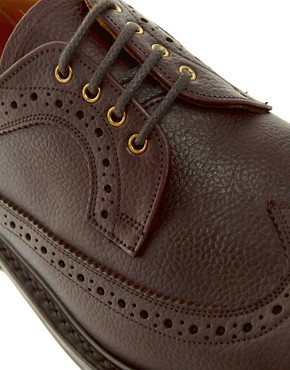 Image 2 ofTrickers Exclusive to ASOS Longwing Brogues
