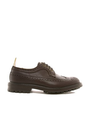 Image 4 ofTrickers Exclusive to ASOS Longwing Brogues