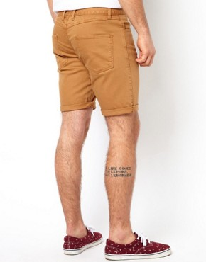 Image 3 of ASOS Denim Short with Skinny Fit
