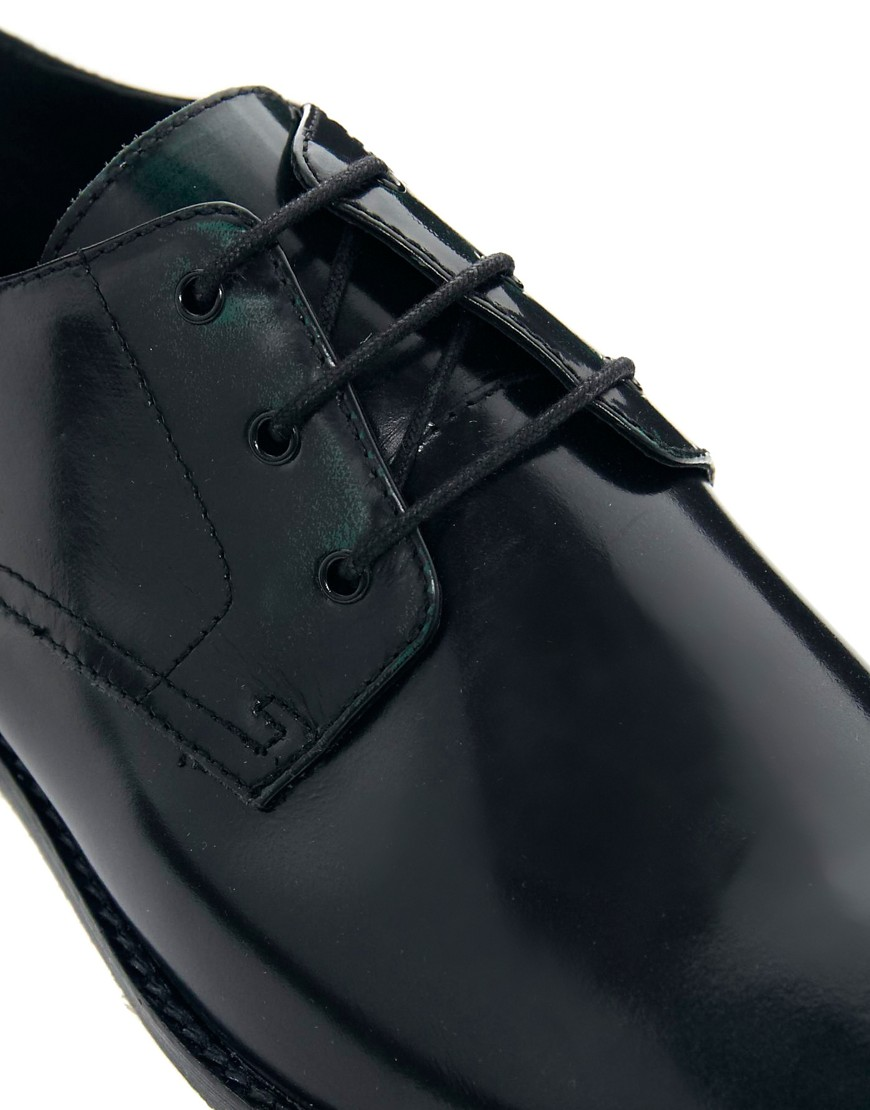 Image 2 of ASOS Derby Shoes in Leather
