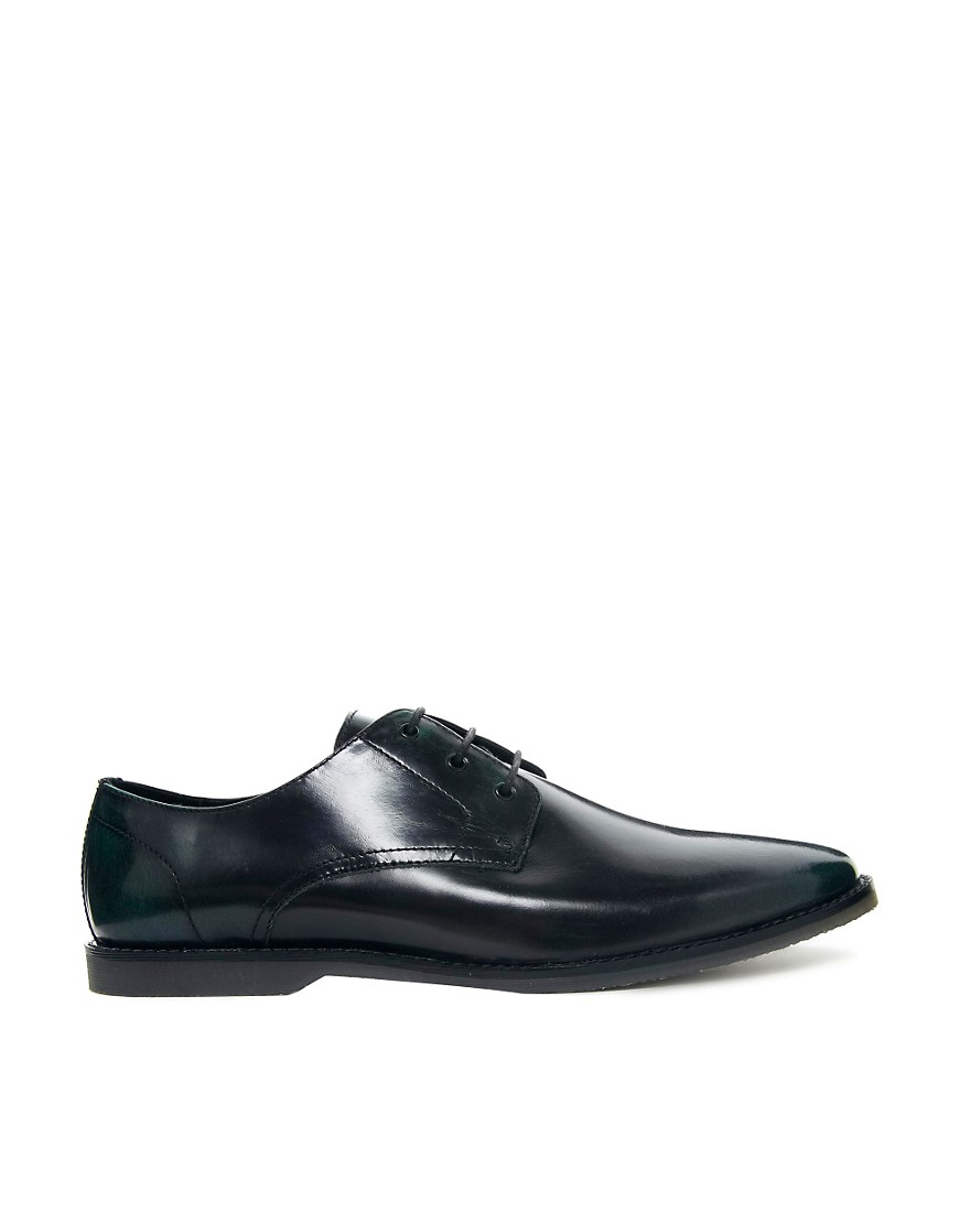 Image 4 of ASOS Derby Shoes in Leather