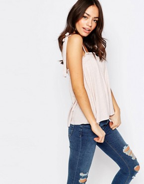 New Look Tie Strap Cami Top