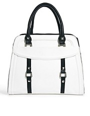 Bolso tote cuadrado monocromtico de Faith