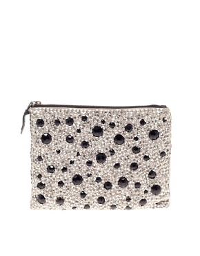 Image 1 ofASOS Large Sequin Clutch
