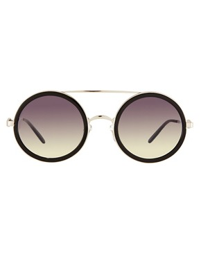 Image 2 ofWildfox Winona Round Sunglasses