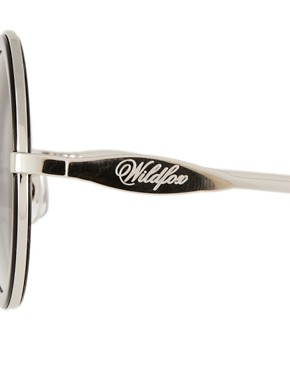 Image 4 ofWildfox Winona Round Sunglasses