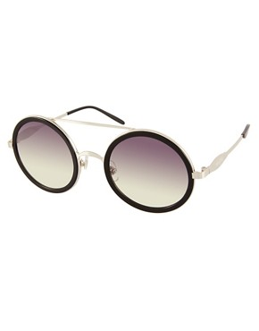 Image 1 ofWildfox Winona Round Sunglasses