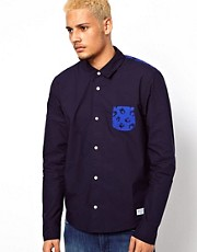 Adidas Originals Shirt with Contrast Pocket