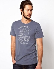 Camiseta con estampado de ancla de Denim & Supply Ralph Lauren