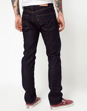 Image 2 ofLevis Vintage Jeans 1967 505 Regular Fit Selvedge