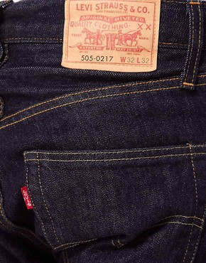 Image 4 ofLevis Vintage Jeans 1967 505 Regular Fit Selvedge
