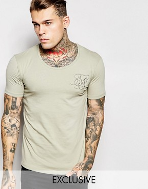 SikSilk Muscle Fit T-Shirt