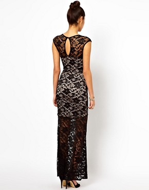 Image 2 ofLipsy Lace Maxi Dress