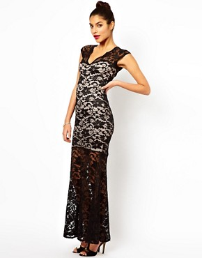 Image 4 ofLipsy Lace Maxi Dress