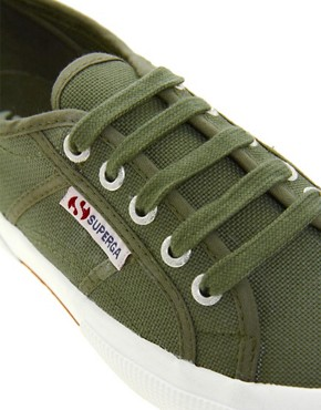 Image 3 ofSuperga Classic Flat Plimsolls