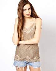 Gold Hawk Monet Floral Camisole