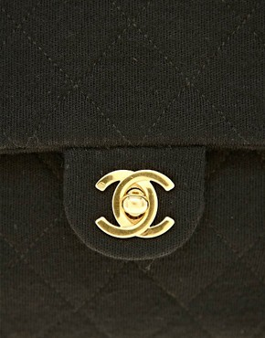 Image 4 of Vintage Heirloom Chanel Classic Jersey 2.55 Bag