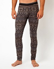 ASOS Meggings With Aztec Print