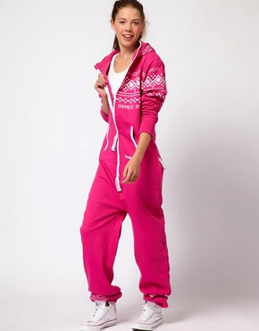 Image 1 ofOnePiece Nordic Pattern Extra Cosy Onesie