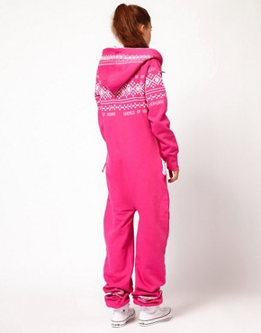 Image 2 ofOnePiece Nordic Pattern Extra Cosy Onesie