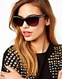 Image 3 ofJeepers Peepers Exclusive To ASOS Black Orla With Chain Detail Sunglasses