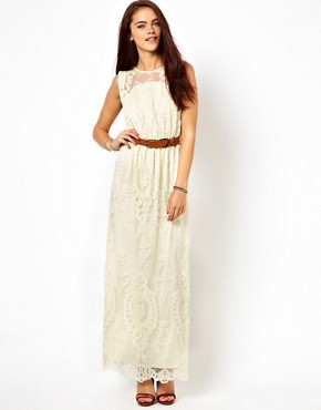 Image 1 of River Island Lace Maxi Dress