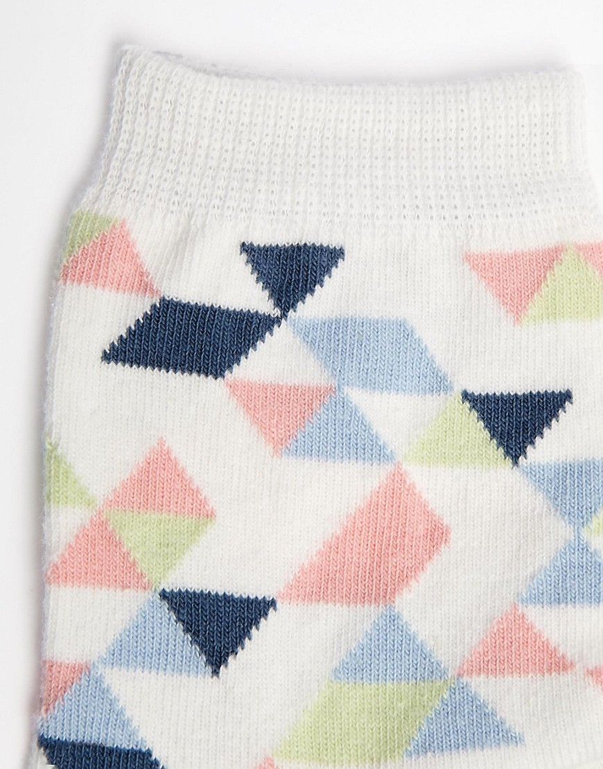 Image 3 of ASOS Geo Ankle Socks
