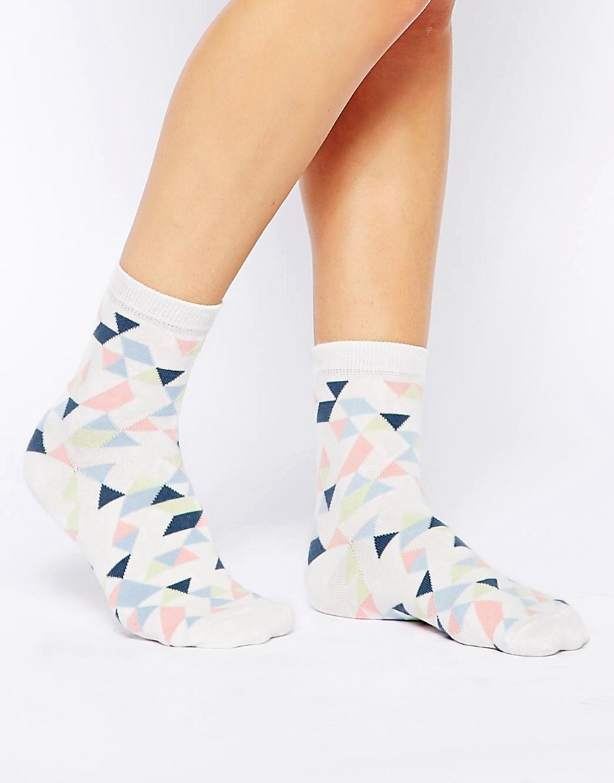 Image 1 of ASOS Geo Ankle Socks