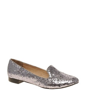 Image 1 ofALDO Buschur Glitter Slippers