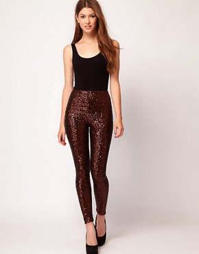 Image 1 ofTFNC Sequin Leggings