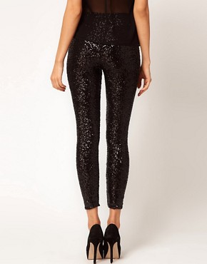 Image 2 ofTFNC Sequin Leggings