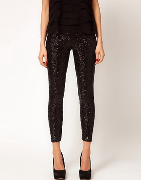 Image 4 ofTFNC Sequin Leggings