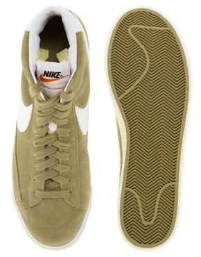Image 3 ofNike Blazer Mid Suede Trainers
