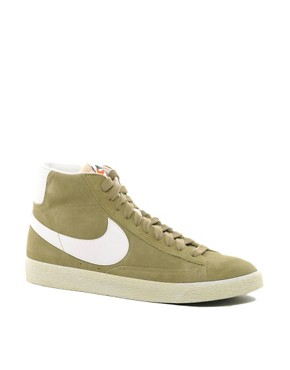 Image 1 ofNike Blazer Mid Suede Trainers