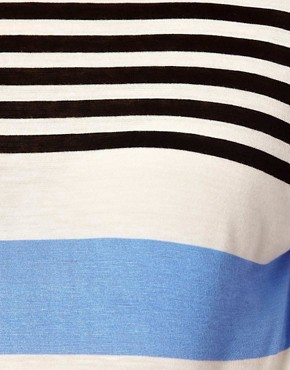 Image 3 of ASOS Maternity Exclusive T-Shirt in Stripe