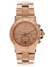 Michael Kors Rose Gold Bracelet Watch