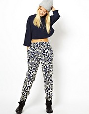 ASOS Trousers In Geo Print