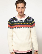Eleven Paris Carius Graphic Jumper
