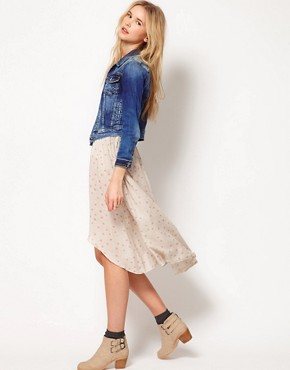 Image 1 ofPepe Jeans Mini Midi Skirt