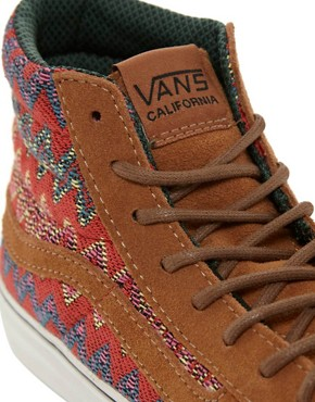 Image 3 ofVans California SK8-Hi Slim Ca Brown High Top Trainers