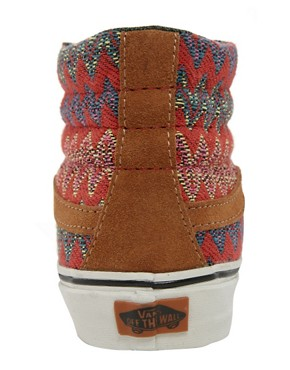 Image 4 ofVans California SK8-Hi Slim Ca Brown High Top Trainers