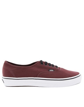 Image 2 ofVans Authentic Plimsolls
