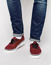 Zapatillas de lona de Vans Authentic