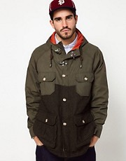 Penfield Kasson Parka with Tweed