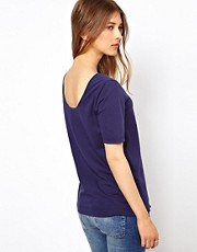 YMC Scoop Back Tee in Linen Jersey