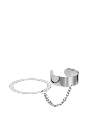 Image 4 ofASOS Linked Cuff &amp; Bangle