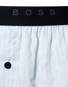 Image 3 ofBoss Black 2 Pack Woven Boxers