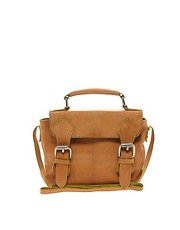 Pieces Gana Leather Satchel