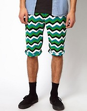 Horace Zig Zag Shorts