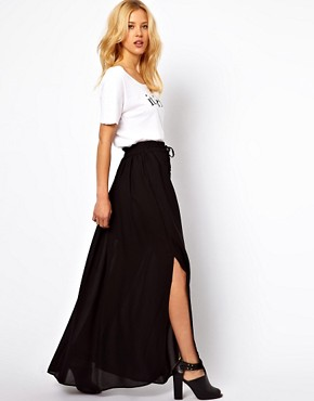 Image 1 ofMango Maxi Skirt